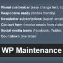 WordPress плагин: WP Maintenance Mode