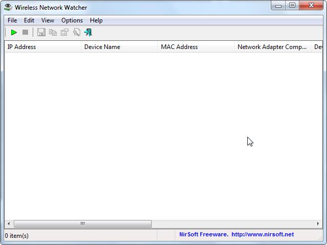 Установка программного обеспечения Wireless Network Watcher