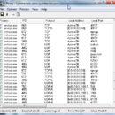 Интерфейс программы TCPView
