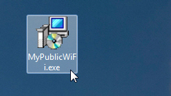 Запускаем установочный файл программы MyPublicWiFi