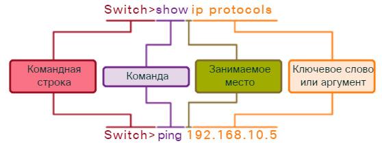 Базовая структура команд IOS. CCNA Routing and Switching.