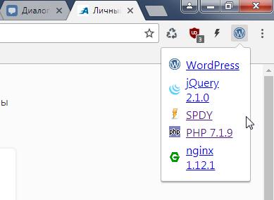 Как работать с расширением Chrome Sniffer