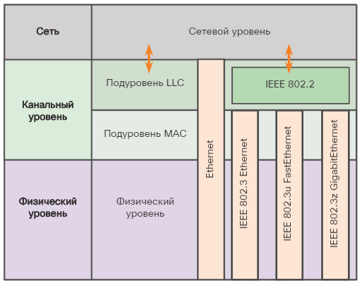 Кадр Ethernet. Инкапсуляция Ethernet. CCNA Routing and Switching.