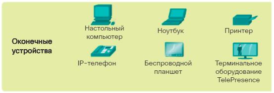 Оконечные устройства. CCNA Routing and Switching.
