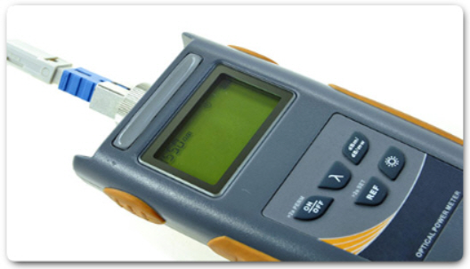 Оптический временной рефлектометр (OTDR).