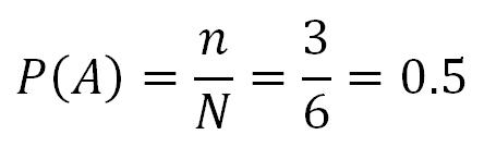 Теория вероятностей. Вероятность нечётного числа на кубике