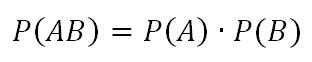 Теория вероятностей. Независимые события