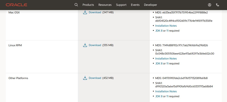 Загрузка SQl Developer Oracle